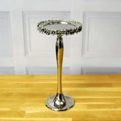 30CM ALUMINIUM CANDLE HOLDER-RING DESIGN