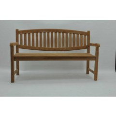 150CM 3 SEAT OVAL BACK BENCH