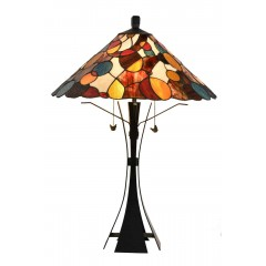 "21"" TIFFANY LAMP 74x52x52cm"