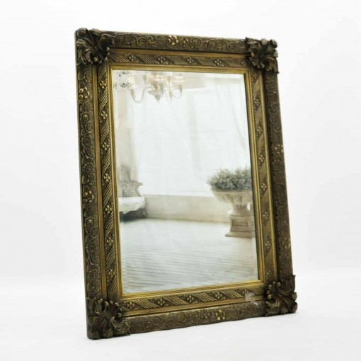 "24x36"" Gold Frame Mirror"